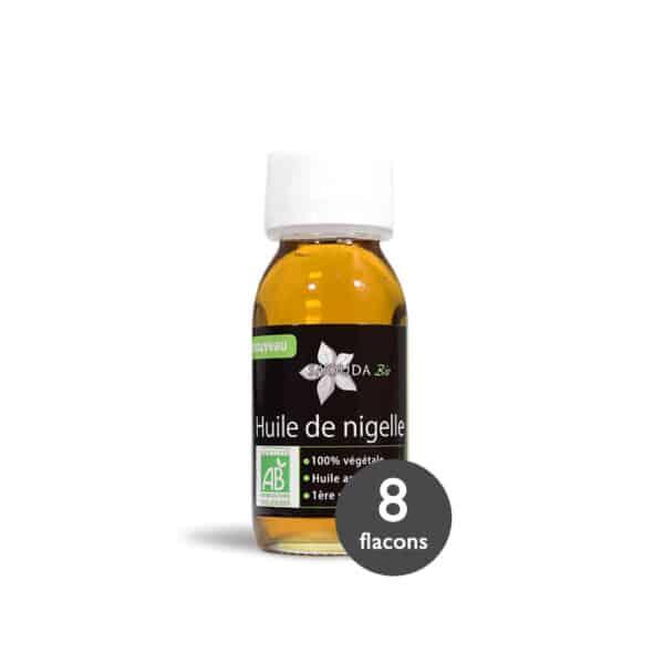 Pack huile de Nigelle Bio Egypte 8 flacons