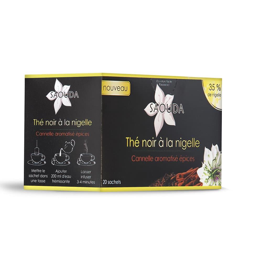 thé noir nigelle cannelle