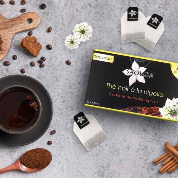 boite thé noir à la nigelle