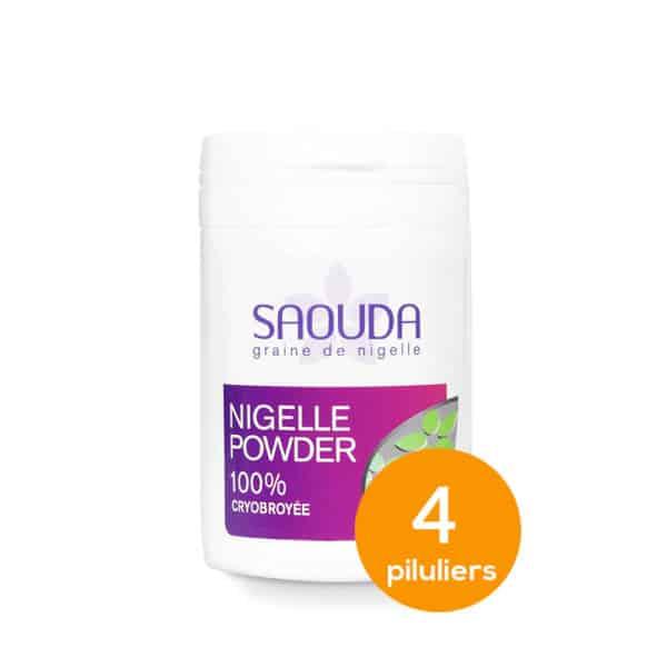 Pack de Nigelle powder x 4 piluliers
