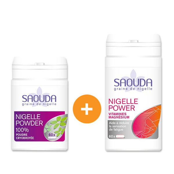 Pack gélules duo powder - energy