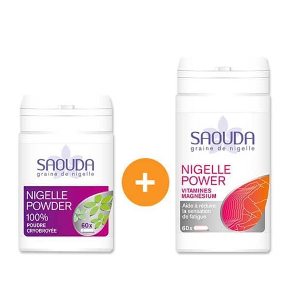 Pack gélules duo powder - energy