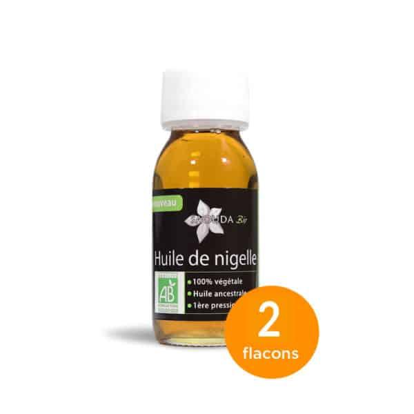 Pack huile de Nigelle Bio Egypte 2 flacons