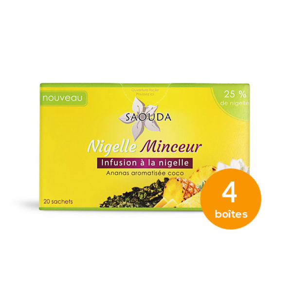 pack infusion nigelle minceur