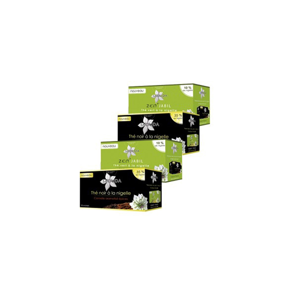 pack thé noir thé vert