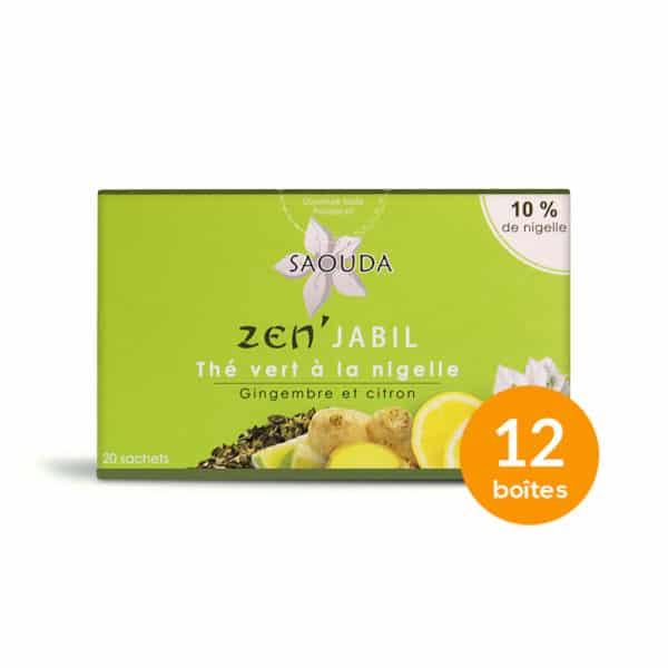 Pack premium thé vert x 12 boites