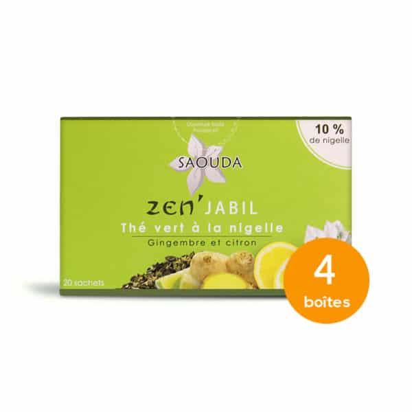 Pack classique thé vert x 4 boites