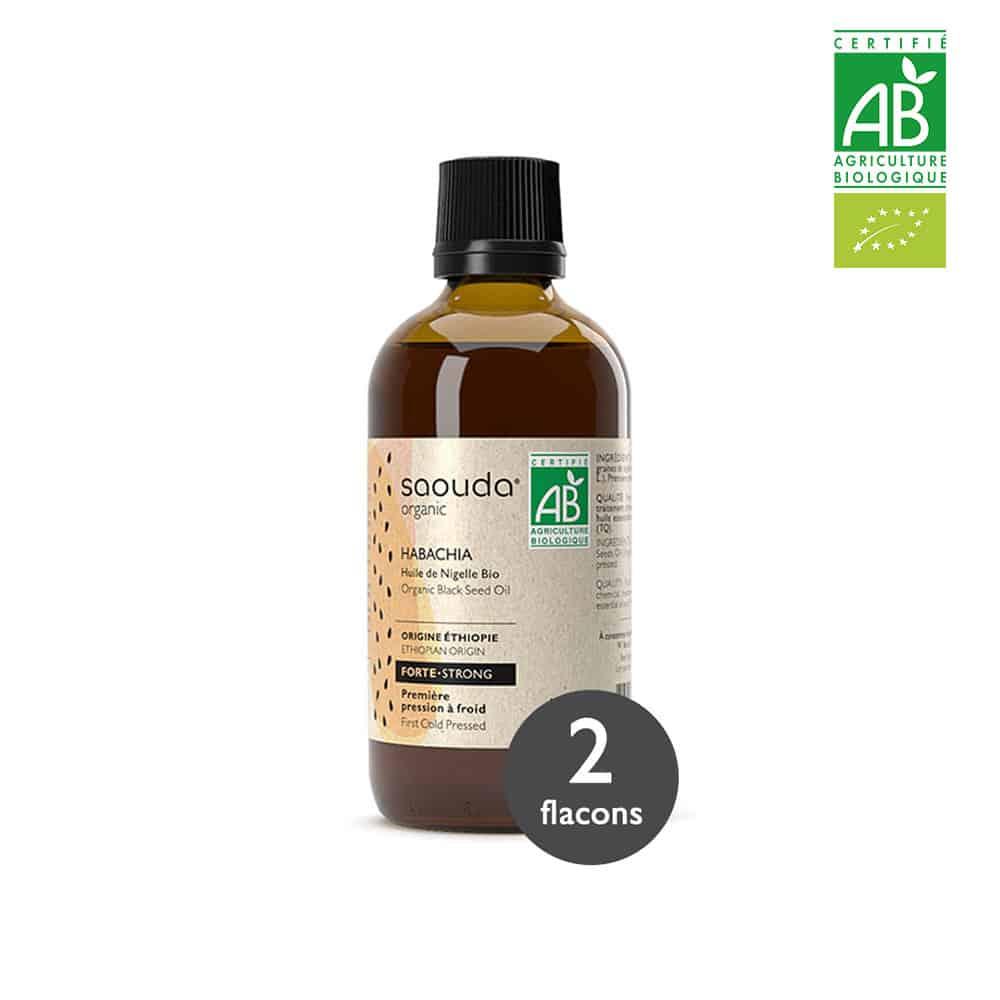 huile de nigelle habachia 2 flacons