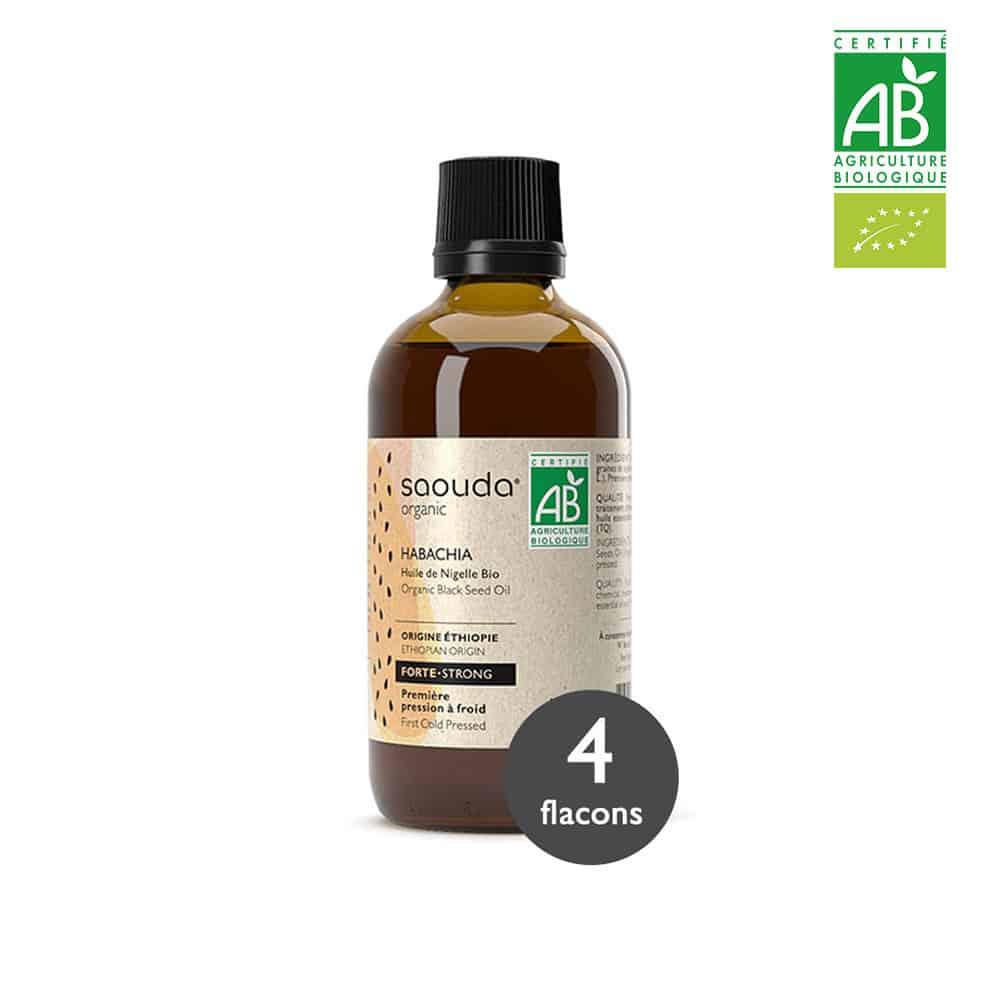 huile de nigelle habachia 4 flacons