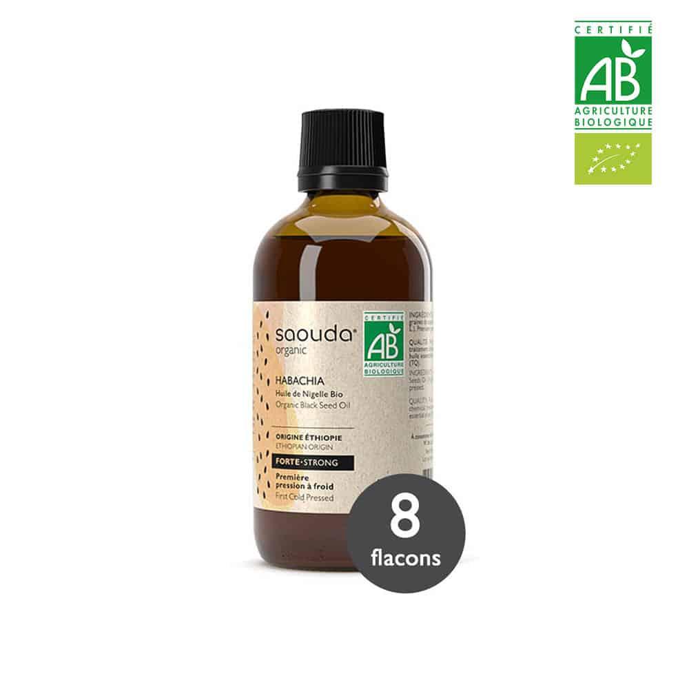 huile de nigelle habachia 8 flacons