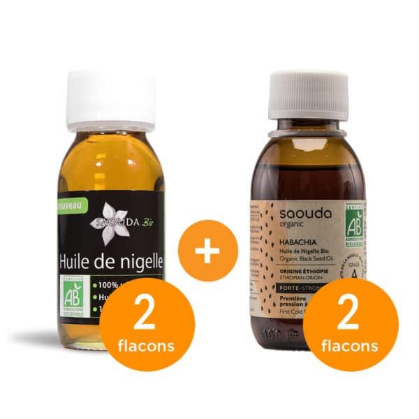 Pack huile de nigelle Habachia Egypte